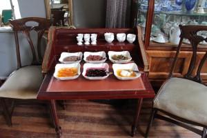 perispiri reçel masası